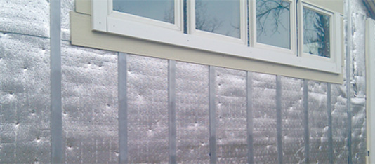 Modern home rainscreen siding
